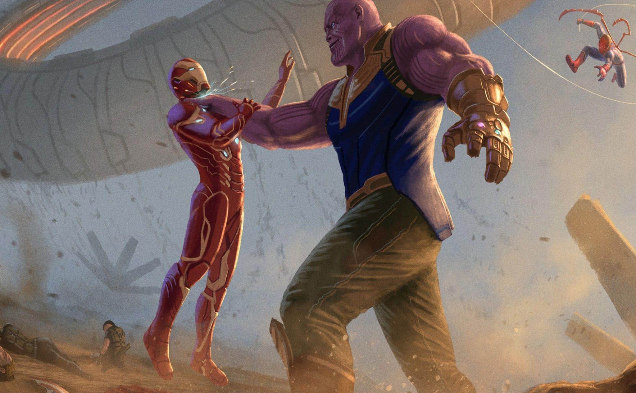 thanos-iron-man-avengers-infinity-war-2018-artwork-uv-2048x1152